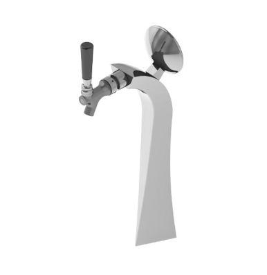 Superb Tower - 1 Faucet - Polished Chrome - Glycol Recirculation Loop C1243 kromedispense