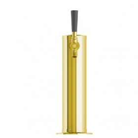 3″ Column with 3/16″ Column Shank – 1 Faucet – Vibrant Gold Color – Air cooled-C174