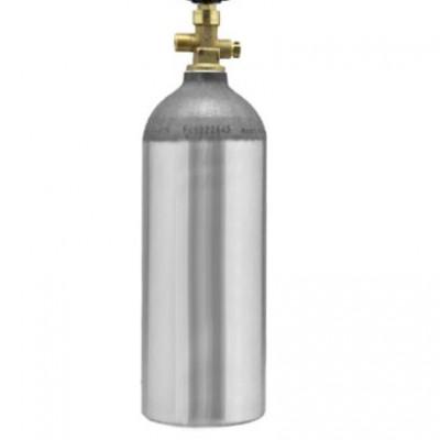 5 Lb Aluminium CO2 Cylinder-C2328-kromedispense