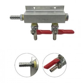 2 Way Gas Distributors without PRV-c2421-kromedispense