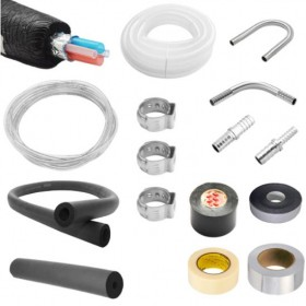 Installation kit for 3/8″-C4109-kromedispense