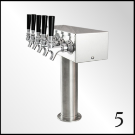 Five Tap Beer Tower