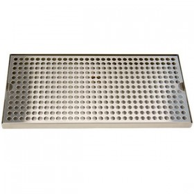 18″ x 8″ SS Surface Drip Tray – Without Drain-c4626-kromedispense