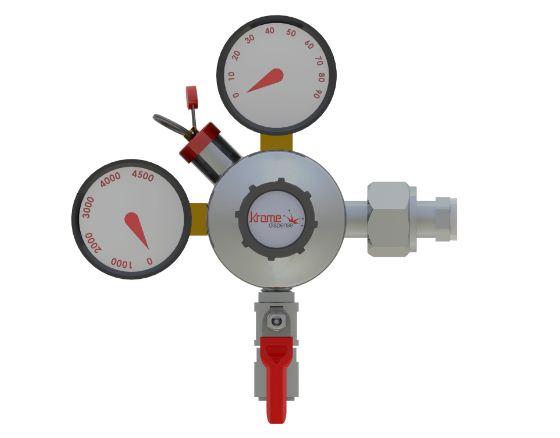 Precision Plus CO2 Regulator USA C870 kromedispense