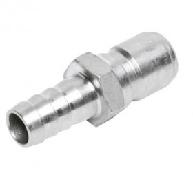 "Male Stainless Steel Quick Disconnect with 1/2"" Barb-C920-kromedispense"