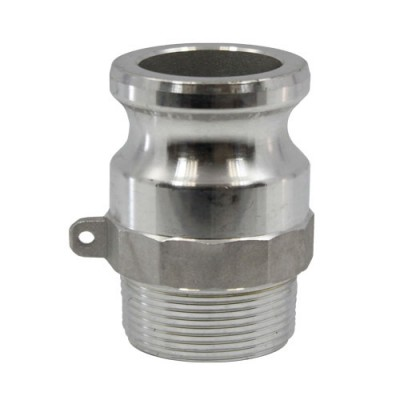 Stainless Steel Camlock Adapter Type F – Male Camlock x 1/2″ Male NPT-C6563-kromedispense
