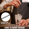"""Stainless Steel 11"""" Cocktail Bar Spoon C1027 kromedispense"""