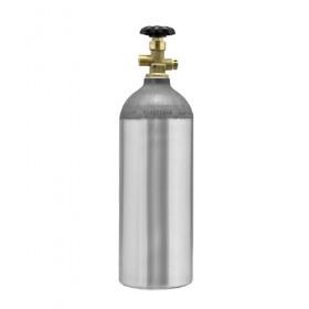 C2329 - Nitrogen Aluminum Cylinder - 5lb - Krome