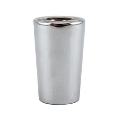 Faucet Handle Ferrule – Chrome Plated Brass (Non Through Thread)