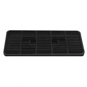 "C4004 - 12"" x 7"" Plastic Drip Tray - Without Drain - Krome"
