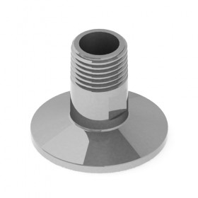 C6564 1 krome Stainless Steel Tri-Clover Fitting