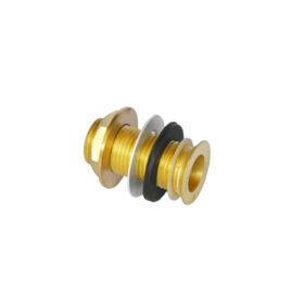 Brass Drain Assembly-2″ Long x 1/2″ NPT C954 kromedispense