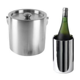 Cooler & Buckets