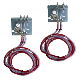 Secondary Regulator Panel kits with Air Distributor Manifolds - Installation Ready