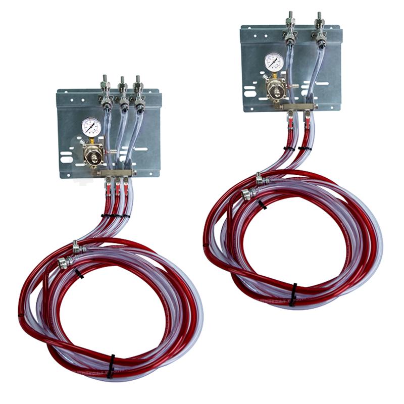 Secondary Regulator Panel kits with Air Distributor Manifolds - Installation Ready