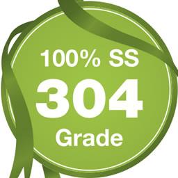 100% SS 304 Grade