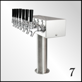 Seven Tap Beer Towers