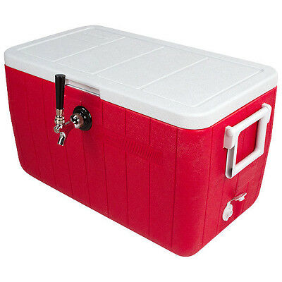 Single Tap Steel Belted Cooler Jocky Box With(50 ft x 5/16″od)-C4101-KROMEDISPENSE