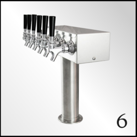 Six Tap Beer Tower
