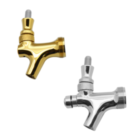 Stainless Steel Beer Faucets