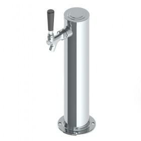 """3"""" Column Tower - 1 Faucet - SS Polished - Air Cooled - 16"""" Long3"""" Column Tower - 1 Faucet - SS Polished - Air Cooled - 16"""" Long-C1025"""