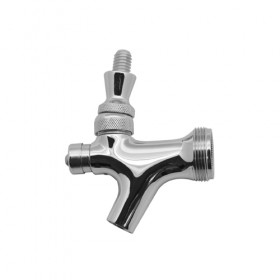 c117-Self Closing Faucet-Stainless Steel With SS Lever-Krome