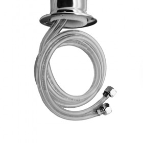 "C1173.01 - Beer Hose Assembly with 1/4"" Tailpiece - Krome"