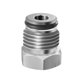 Corny and AEB Plug Adapter - Stainless Steel C118 kromedispense