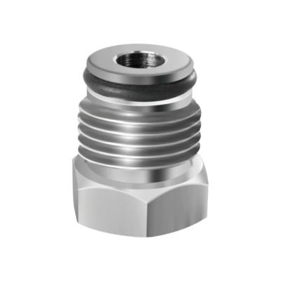Corny and AEB Plug Adapter - Stainless Steel C118 kromedispense