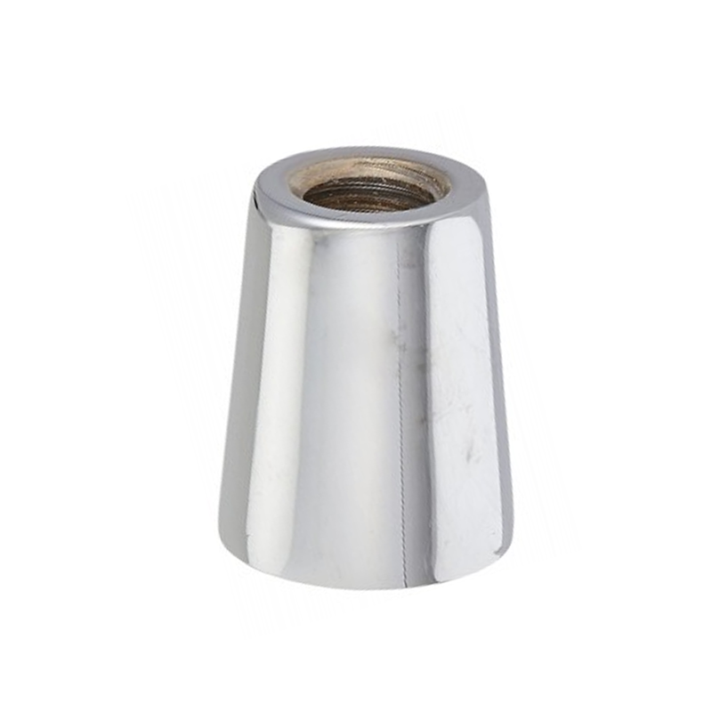Faucet Handle Ferrule – Aluminium with brushed nickel finish - C1453