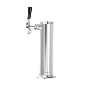3″ Column Tower – 1 Faucet – 100% SS Polished – Air Cooled C273 kromedispense