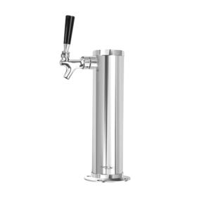 3″ Column- 1 Faucet – SS Polished – Glyco Cold Technology C569 kromedispense