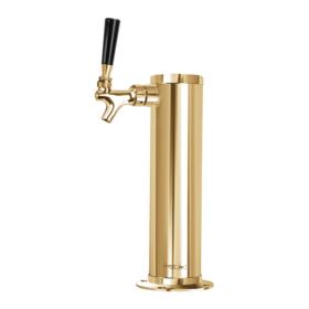 3″ Column with 1/4″ Column Shank – 1 Faucet – Vibrant Gold Finish – Air cooled C1174 kromedispense