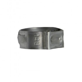 c188 KROME Stainless Steel Step Less Clamp For _ 516 ID Vinyl hose(14.8mm