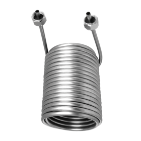 c220 Cooling Coil SS 304 Left Hand with 5/16″ O.D