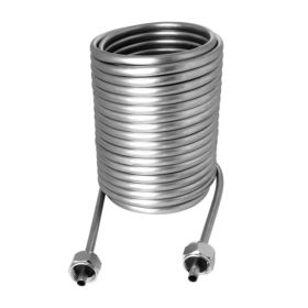 70′ Cooling Coil SS 304 Left Hand with 3/8″ O.D