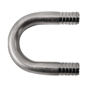 Small U Bend – 3/8″ O.D x 2″ Long C252 Kromedispense