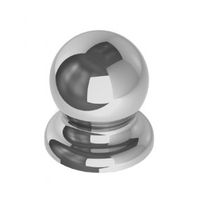 C3595 - Round Ferrule - Polished Chrome
