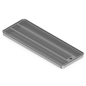 C4010 - 60cm X 22cm Surface Mount Drip Tray - Without Drain -Krome