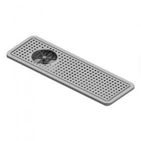 c4031 1krome recessed dript tray