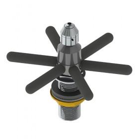 c4038 Spin-Spray Pitcher Rinser Assembly- Krome