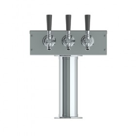 C509- T Tower - 3 Faucets - Air Cooled