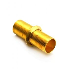 C543.01-Full Thread Nipple-Krome