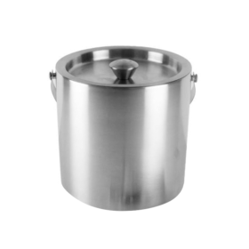 Stainless Steel Ice Bucket with Lid C561 Kromedispense