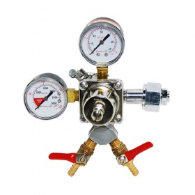 C5614- CO2 regulator - 2 Outlet - Krome