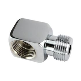 Keg Coupler Elbow 90° Angle - Plated Brass C601 Kromedispense