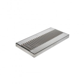 c632-12 x 6 Surface Drip Tray - Brushed Stainless - Without Drain-Krome