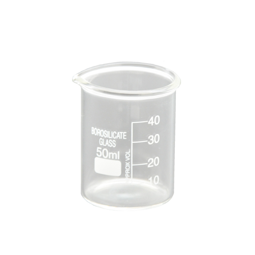 Glass Beaker 1.6 oz C6550 kromedispense