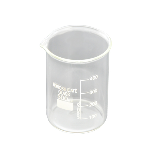 Glass Beaker 16.9 oz C6551 kromedispense