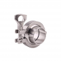 Heavy Duty Stainless Steel Tri-Clover Fitting – 1.5″ TC Clamp - C6565 - Kromedispense